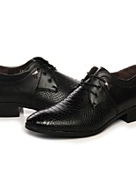 Men's Shoes Leatherette / Other Animal Skin / PU Office & Career / Casual / Party & Evening OxfordsOffice & Career / Casual / Party &