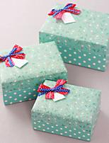 Boîtes Cadeaux(Vert,Papier durci)Thème classique- pourFête prénuptiale / Fête de naissance / Bonbon seize / Anniversaire / Mariage /
