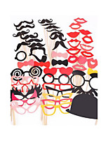 50PCS Card Paper Photo Booth Props Party Fun Favor
