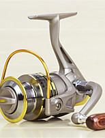 Molinetes Rotativos 5.2:1 8.0 Rolamentos Trocável Pesca de Mar / Rotação / Pesca de Água Doce / Pesca Geral-GS5000 #