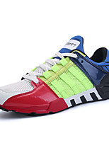 Men's Athletic Shoes Spring Summer Fall Winter Comfort PU Office & Career Athletic Casual Split Joint Lace-up Running