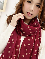 The New Korean Wave Point Dot Chiffon Scarves Scarves