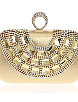 L.west Women Elegant High-grade Diamonds Evening Bag