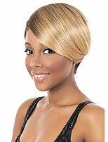Women Short Straight Synthetic Hair Wig
