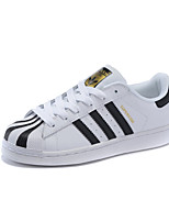 Adidas Originals Men's Shoes Outdoor / Casual Nappa Leather Fashion Sneakers Black and White
