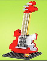 loz rouge loz guitare blocs de diamant bloquent jouets jouets de bricolage (150 pcs)