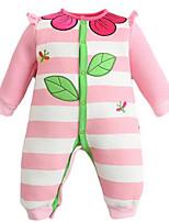 Girl's Pink Overall & Jumpsuit,Cartoon Cotton Winter