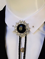 Men Vintage Bolo Tie Party Casual Neck Tie