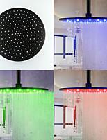 Top Spray Shower Nozzle Color Temperature Control (12 Inch)