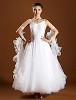 High-quality Spandex and Tulle with Rhinestones Performance Dresses for Women's Performance(More Colors)