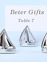 Nautical Sailboat Place Card Holders Beach Party Decoration