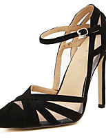 Women's Shoes Leatherette Stiletto Heel Heels / Peep Toe / Boat / Basic Pump / Comfort / NoveltySandals / Heels /