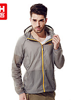 Outdoor Men's Tops Camping & Hiking / Cycling/Bike / Running Waterproof / Breathable / Lightweight Materials