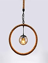 American country Vintage industrial wind rope chandelier creative restaurant bar clothing store decoration Pendant