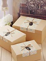 Boîtes Cadeaux(Champagne,Papier durci)Thème classique- pourMariage / Commémoration / Fête prénuptiale / Fête de naissance / Bonbon seize