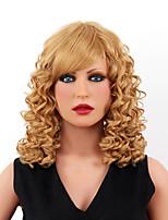 le style de grâce capless de haute qualité court ondulé mono top cheveux humains perruques huit couleurs au choix