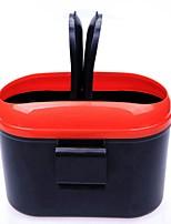 ziqiao universele auto vuilnisbak kan huisvuil stof geval houder