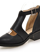 Women's Shoes Leatherette Chunky Heel Heels Heels Outdoor / Office & Career / Party & Evening