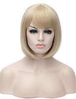 Best-Selling European and America Blonde Color Hair Straight Synthetic Wigs