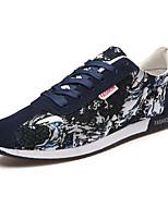 Women's Shoes Fleece Flat Heel Comfort Flats Athletic Black / Blue / Gray