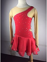 Skating Dresses Women's Red S / M / L / XL / 6 / 8 / 10 / 12 / 14 / 16 Others