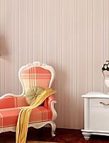 Contemporary Wallpaper Art Deco 3D Fashion Stripe Wallpaper Wall Covering Non-woven Fabric Wall Art