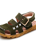 Baby Shoes Outdoor / Casual Leather Sandals Yellow / Green / Gray