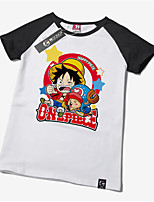 -One Piece-Monkey D. Luffy- mitT-Shirt-Ärmel