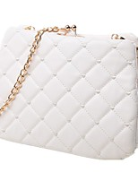 Women PU Sling Bag Shoulder Bag-White / Pink / Black / Fuchsia