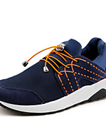 Men's Casual Athletics Running Shoes Outdoor Sneakers Black / Blue / Gray