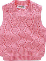Girl's Tank & Cami,Cotton Spring / Fall Pink / Red / Yellow
