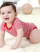 Girl's Red Overall & Jumpsuit,Stripes Cotton Summer