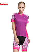 Tasdan Women's Cycling Clothing Cycling Wear Cycling Jersey Sets  Cycling Jerseys Short sleeve  + Cycling Shorts