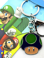 New Super Mario Bros  Red / Blue / Green Alloy Key More Accessories