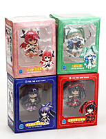 Date A Live PVC 10cm Anime Action Figures Model Toys Doll Toy 1 Set