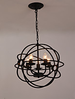 MAX40W Globe Designers Painting Metal Chandeliers Living Room / Bedroom / Dining Room / Kitchen / Study Room/Office