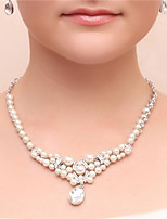 Women's Cubic Zirconia / Imitation Pearl / Alloy Jewelry Set Cubic Zirconia