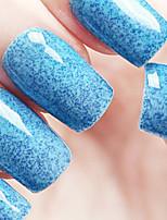 Ekbas Environmentally Safe Sugar Gum Blue 16ML Glitters Nail Polish