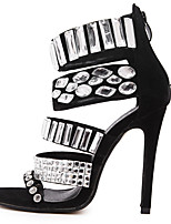 Women's Shoes Leatherette Stiletto Heel Heels /Basic Pump / Comfort / Novelty / Pointed ToeSandals / Heels /