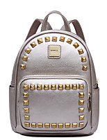 HOWRU® Women 's PU Backpack/Tote Bag/Leisure bag/Travel Bag-Silver