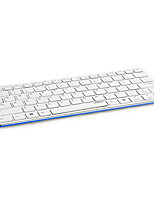 Original Rapoo E6350 Ultra Thin Slim Metal Bluetooth 3.0 Wireless Keyboard for PC Tablet Black/White/Blue/Yellow/Red