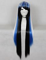cosplay style chaud coloré synthétique de qualité supérieure perruques cheveux raides