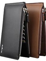 Multi-functional Wallet New Men Bags Brand Genuine Leather Male Wallet Purse Men's  Long Business Clutch Bags
