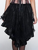Vestido con Corsé / Talla Grande Para Mujer-Sin Especificar-Encaje / Nailon / Poliéster