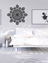 9486 Indian Namaste Words Religion Wall Decal Vinyl Lotus Yoga Sticker Buddha Ganesha Home Decor Bedroom Flower Mural