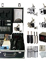 Basekey Tattoo Kit K0104 3Guns Machine With Power Supply Grips Cleaning Brush Needles