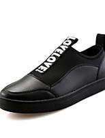 Heren Loafers & Slip-Ons Lente / Zomer / Herfst / Winter Platte schoenen Canvas Informeel Platte hak Instappers Zwart / Rood / GoudOthers
