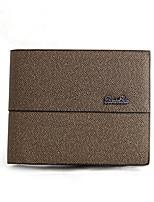 2016 New Leather Baellerry Wallet Multifunctional Short Design Men Wallet Zipper Coin Purse Card Holder