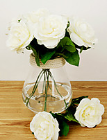 Silk Roses Artificial Flowers Multicolor Optional 1pc/set