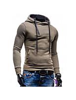 Herren Freizeit Activewear Sets - Einfarbig Lang Baumwolle